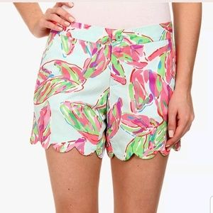 Lilly Pulitzer Buttercup Shorts In the Vias Print
